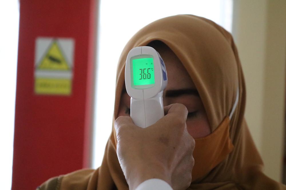 thermometer video doorbell ettie ring arlo coronavirus covid-19 real estate tamara kucik