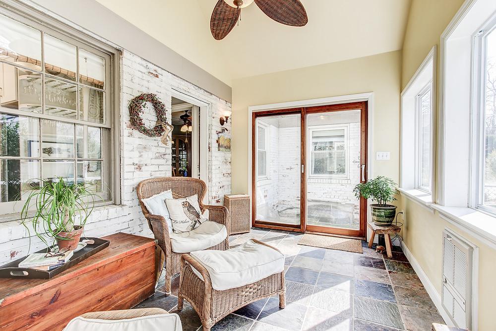 porch beautiful slate comfortable relaxing