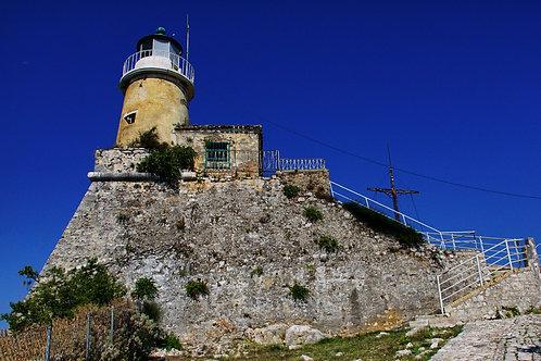 Corfu Old Fortress Lighthouse