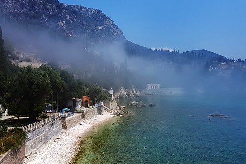 Paleokastritsa Bay Sea Mist