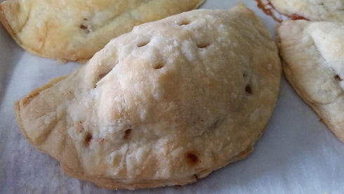 Hand pies. Who needs a fork when you can hold a pie in your hand?