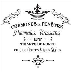 CREMONES DE FENETRE