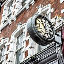 Hampstead branch iconic clock