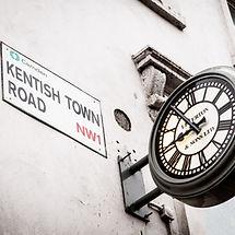 Kentish Town branch iconic clock