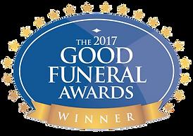 Good Funeral Award 2017 logo