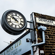 Muswell Hill branch iconic clock