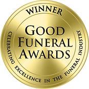 Winner Good Funeral Awards logo