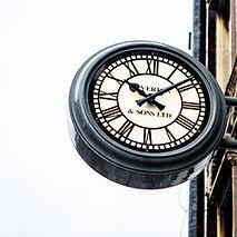 Golders Green iconic clock