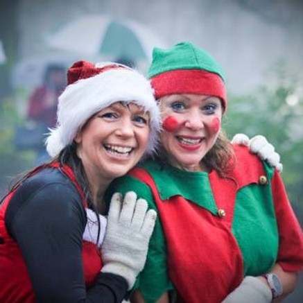 Santa Dash 4 mile Trail Race