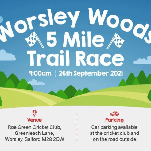 Worsley Woods 5 Mile Trail Race