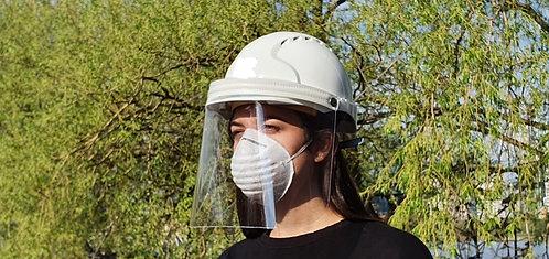 Helmet with shield/visor