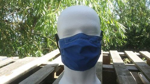 Face covering - Plain Blue