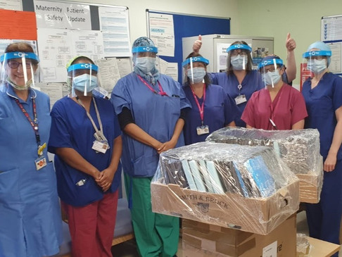 COVID-19 - We have made 10,000 visors!!!