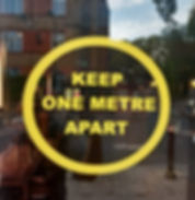 keep one metre apart