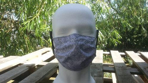 Face covering - Gray/snake