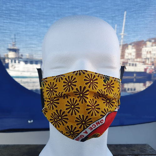Face covering -Yellow