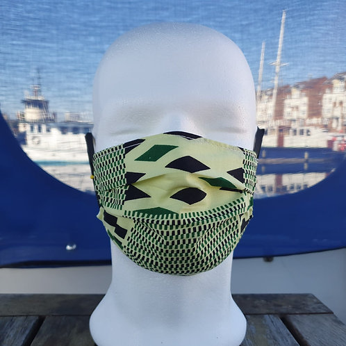 Face covering - Light green
