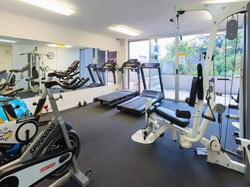 outdoor areas- gym