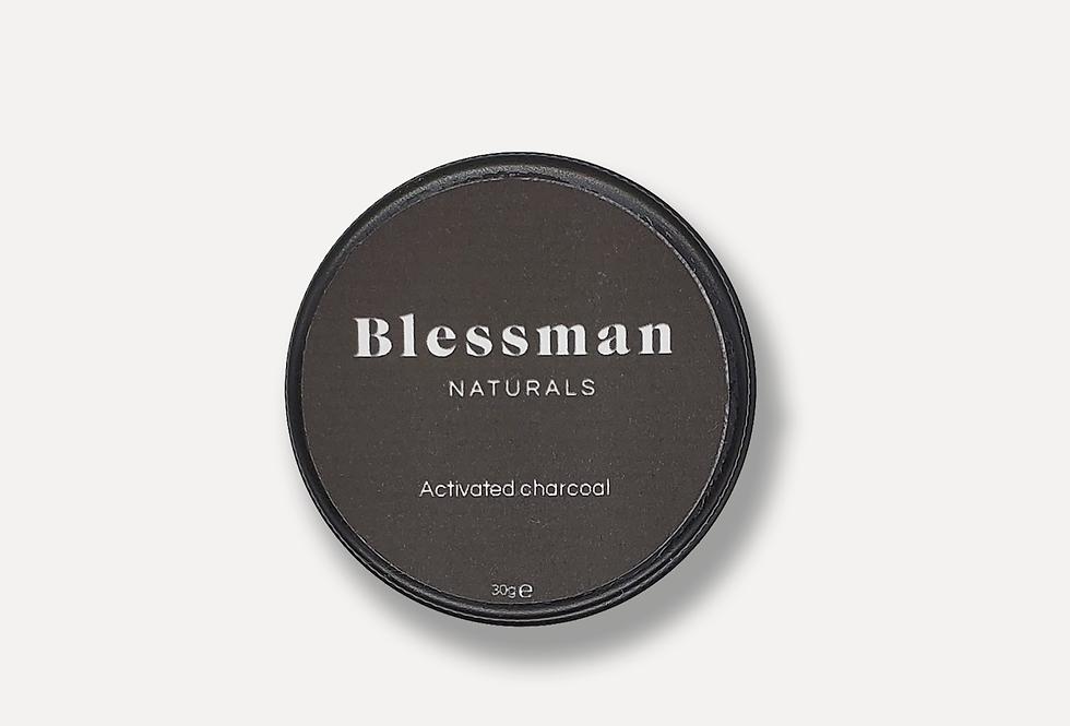 Activated charcoal | Natural & organic | Blessman naturals