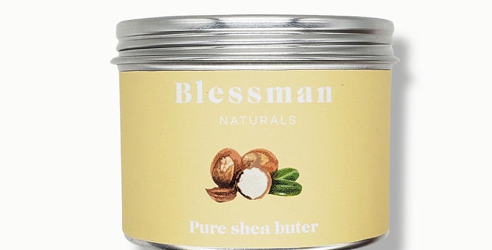 Organic shea butter | Skin moisturiser | Blessman naturals