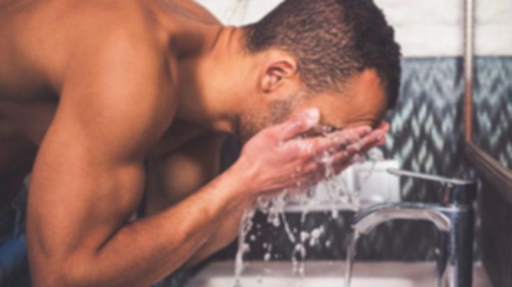 Mens face wash
