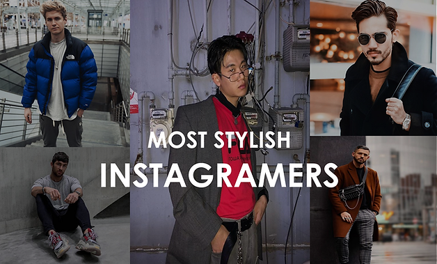 Most stylish instagramers
