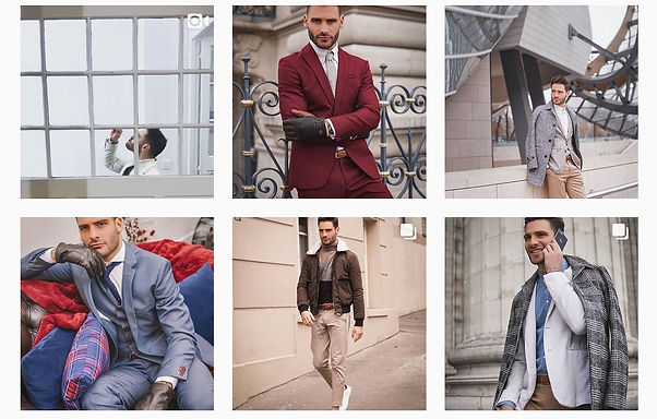Instagram influencers mens fashion