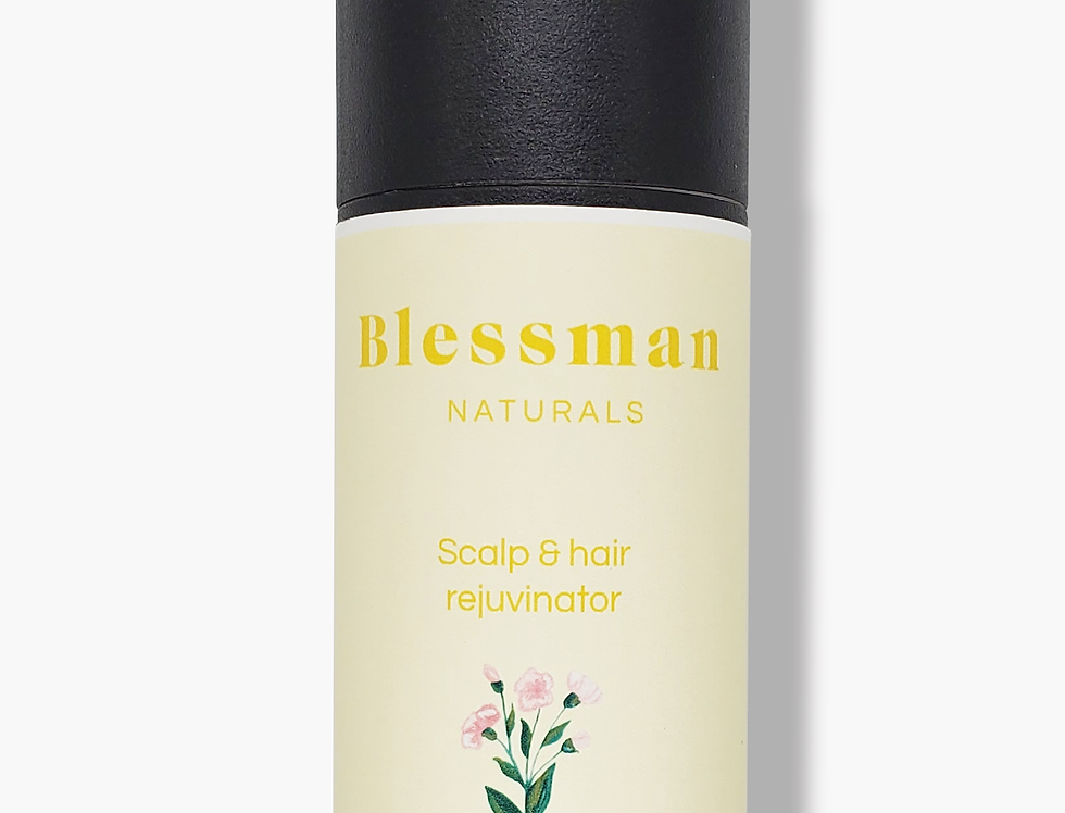 Scalp & hair rejuvenator | Essential oil hair oil