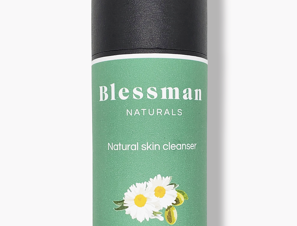 Natural plant based face cleanser