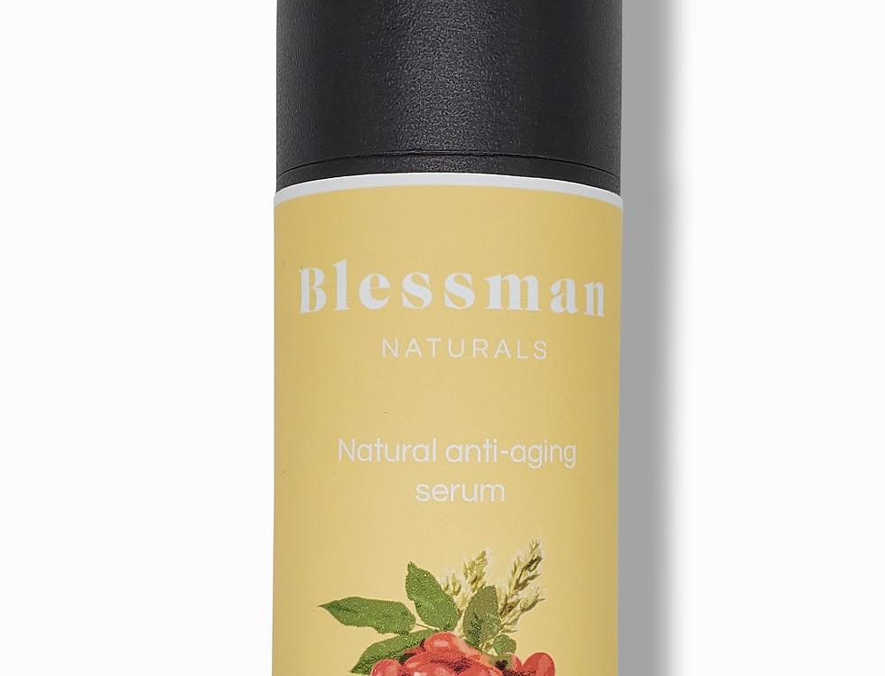 Natural anti-aging facial serum