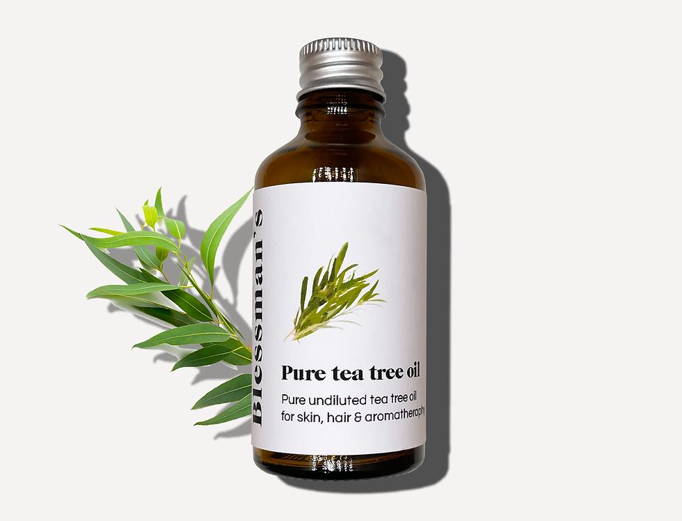 Tea tree oil 100% pure & natural