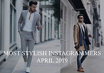 Most stylish instagramers april 2019
