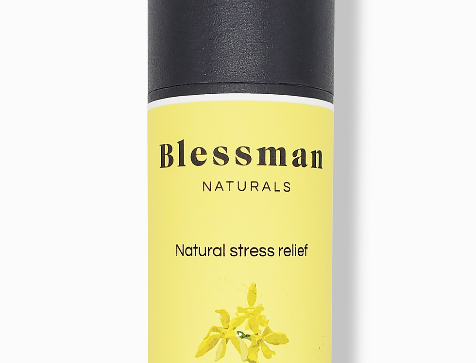 Natural stress & anxiety relief, Ylang ylang, rosemary, bergamot, lavender