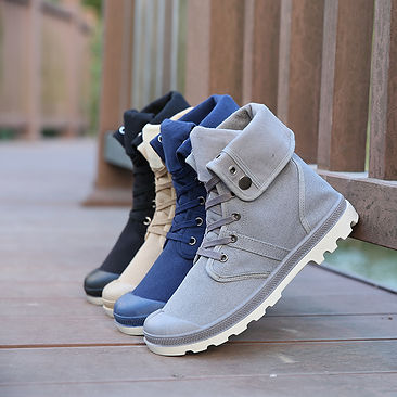 fold over miltary boots