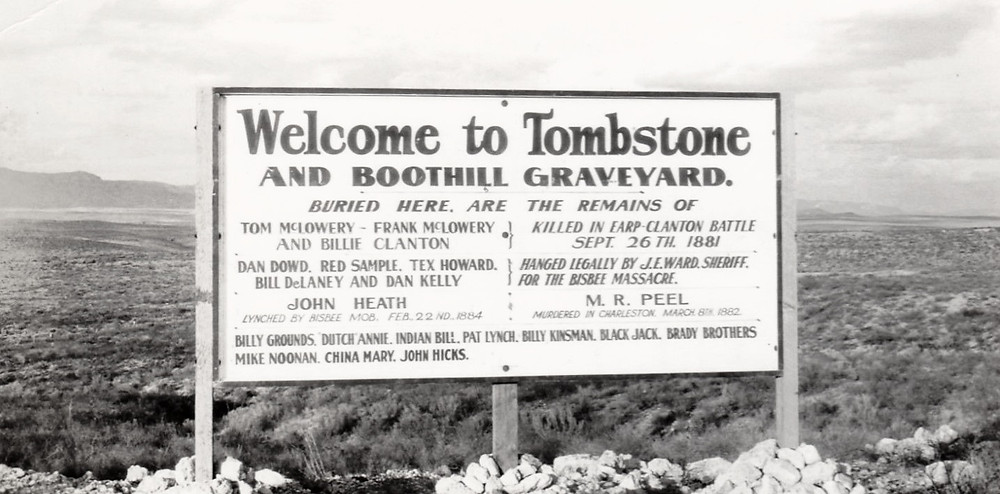 Welcome Boothill graveyard