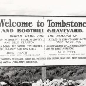 Boothilll Graveyard Burials - Tombstone Arizona