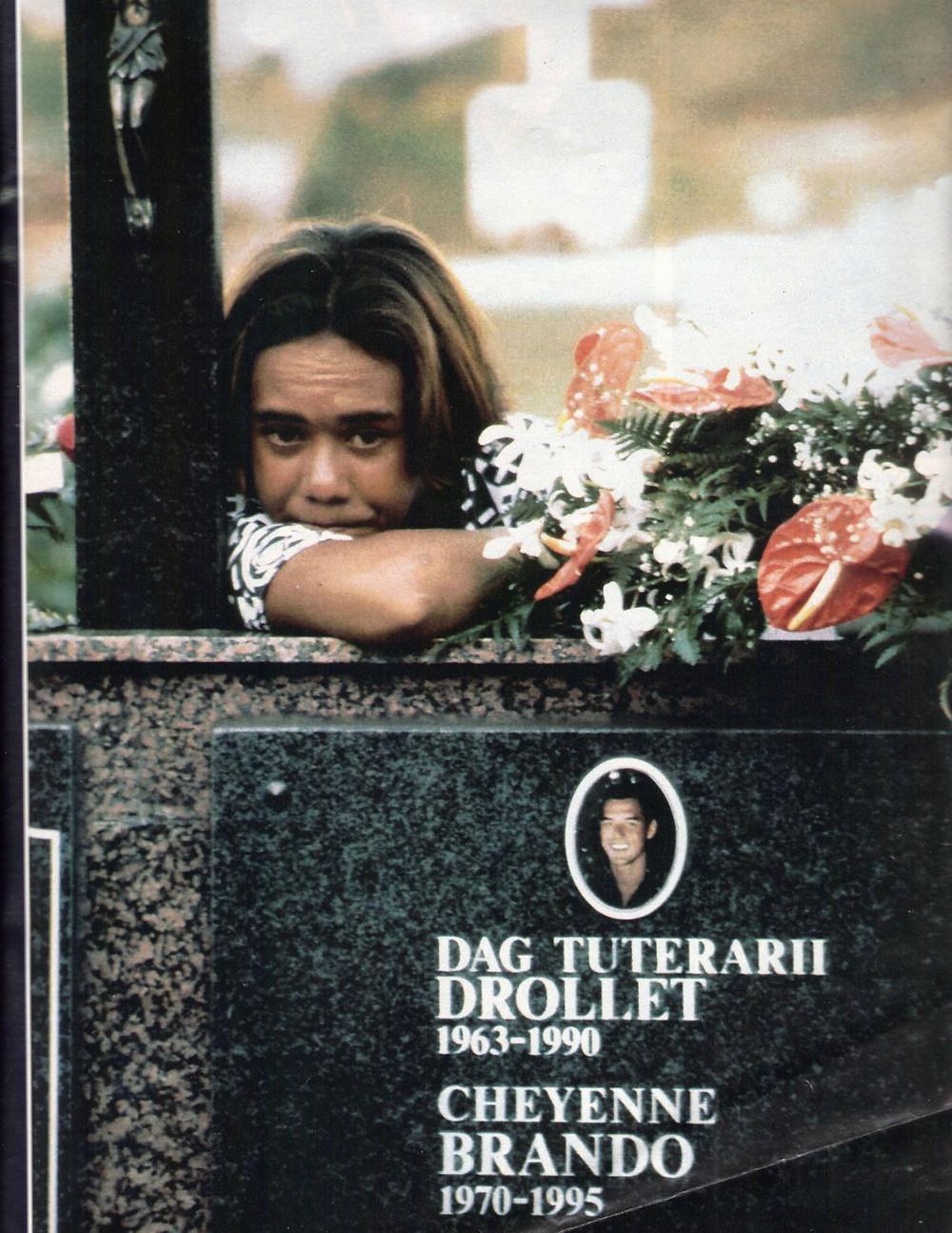 Cheyenne Brando Funeral Tuki Drollet