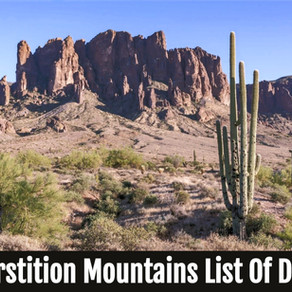 Superstition Mountains List Of Deaths