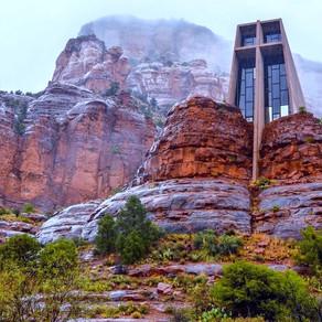 Chapel Of Holy Cross - Sedona Arizona