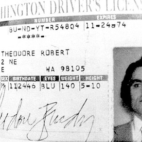 Ted Bundy's License - Washington & Utah