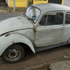 VW Beetle, Similar To Ted Bundy's In Nicaragua