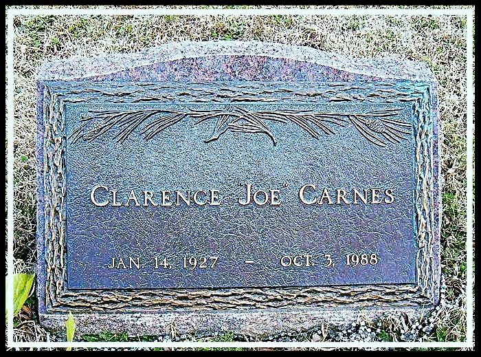 Alcatraz Clarence Carnes Grave
