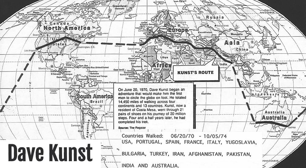 Dave Kunst Map