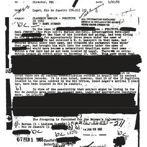 1962 Alcatraz Escape FBI Files