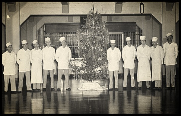 Alcatraz Kitchen Crew Christmas