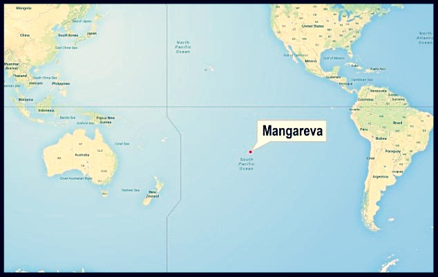 Mangareva Pitcairn Island