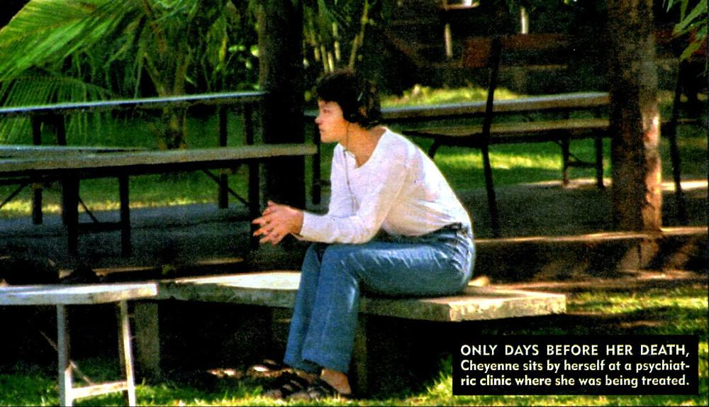 Cheyenne Brando psychiatric