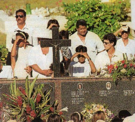 Cheyenne Brando Funeral