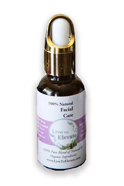 100% Natural Facial Serum made w/ organic oils