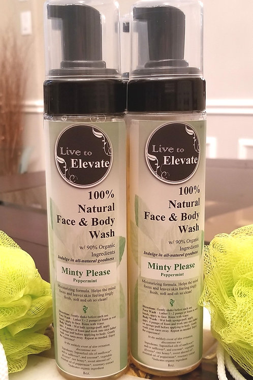 Minty Please - 100% Natural Body Wash